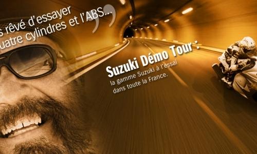 SUZUKI DEMO TOUR CHEZ ESPACE-MOTOS 95