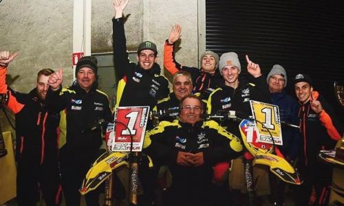 Carton plein pour Suzuki en Supercross !