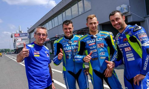 Les équipes Suzuki visent le podium en Slovaquie