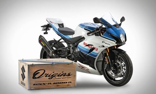 GSX-R1000R Origins : l'hommage hautes performances