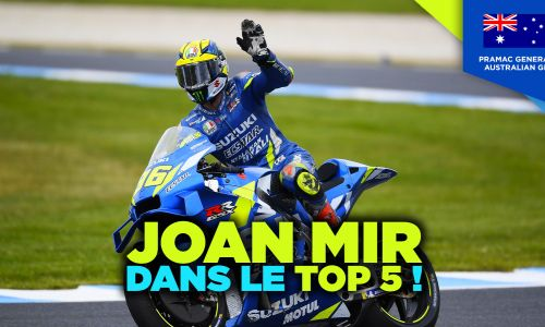 #AustralianGP : Joan Mir dans le Top 5 !
