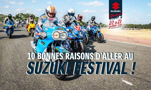 10 bonnes raisons d'aller au Suzuki Festival