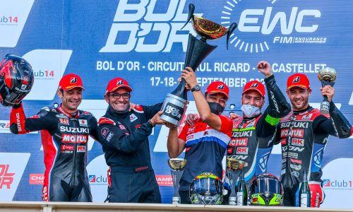 Suzuki réalise la course parfaite au Bol d'Or