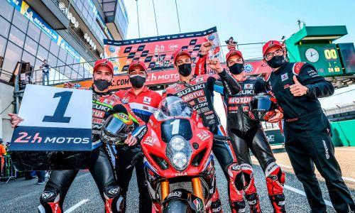 Victoire du Yoshimura SERT au Mans