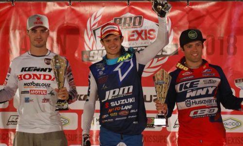 Coup d'envoi de la série Pro Hexis Supercross pour le Team Suzuki JPM