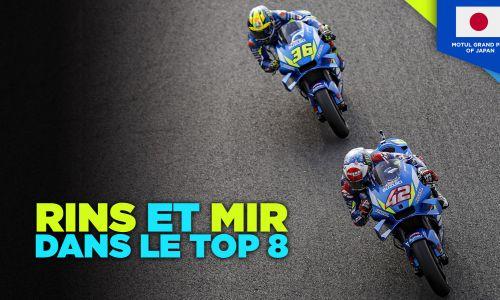 #JapanaseGP : Rins et Mir dans le Top 8