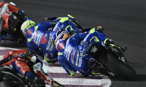 Ouverture du MotoGP au Qatar pour le Team Suzuki Ecstar