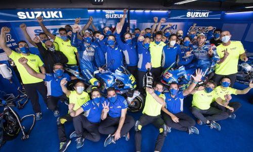 Encore un double podium pour Suzuki