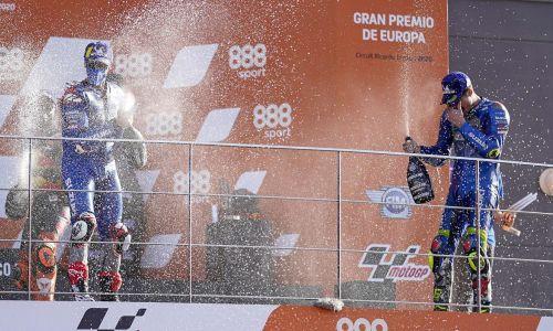 Première victoire pour le leader du championnat Joan Mir