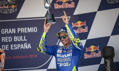 Second podium consécutif pour Iannone, le troisième pour Suzuki !