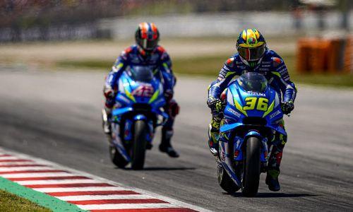 Grand-Prix de Catalogne : Le Team Suzuki Ecstar en grande forme