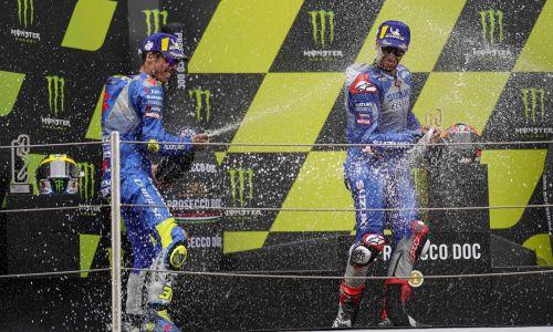 Double podium historique pour Suzuki