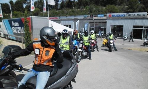 SUZUKI DEMO TOUR A AIX EN PROVENCE CHEZ MEGA MOTO