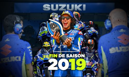 Fin d'une glorieuse saison pour le Team Suzuki Ecstar