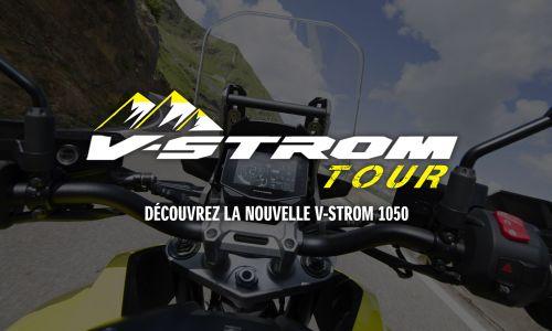 V-Strom Tour : Découvrez la nouvelle V-Strom 1050 !