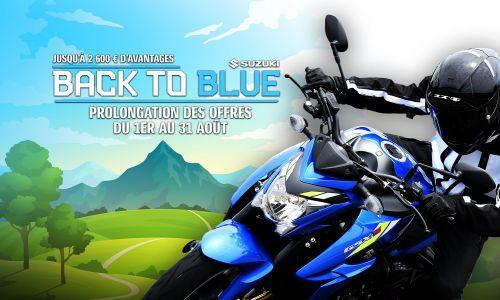 Prolongation #BackToBlue : Jusqu'à 2 600 € d'avantages