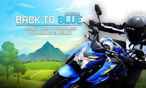 Back To Blue : Jusqu'à 2 600 € d'avantages