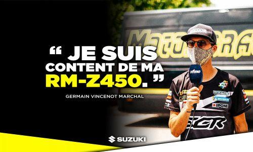 Germain Vincenot Marchal rejoint la #SuzukiFamily