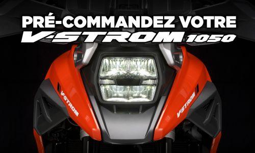 Pré-commandez votre V-Strom 1050 !